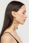 Earring K010 Brown 3