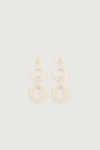 Earring K041 White 4