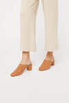 Heeled Mule 3363 Brown 1
