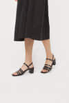 Heeled Sandal 3455 Black 1