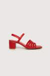 Heeled Sandal 3455 Red 5