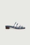 Heeled Sandal 3542 Navy 1
