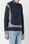 Sweater 2675 Navy 1