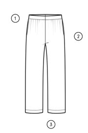 PANT 3813 measuring guide thumbnail