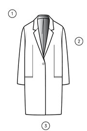 JACKET 4572 measuring guide thumbnail