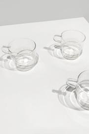 CLEAR GLASS MUG 3135 thumbnail